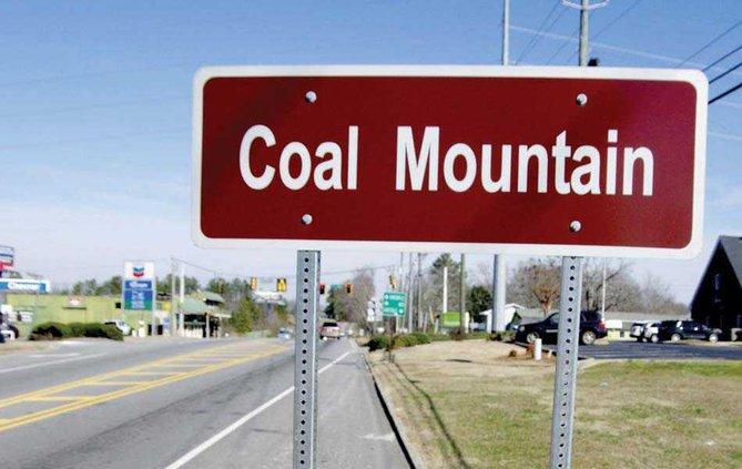 1PRINT Coal Mountain Sign WEB