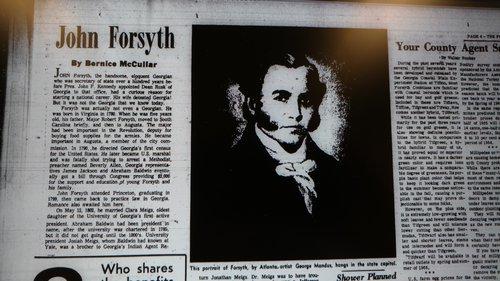 forsyth history
