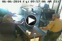 Forsyth County Sheriff's Office releases surveillance from courthouse shooting