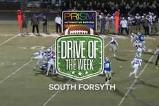 Prism Automotive Drive of the Week 9: South Forsyth's 3rd quarter drive against North Forsyth