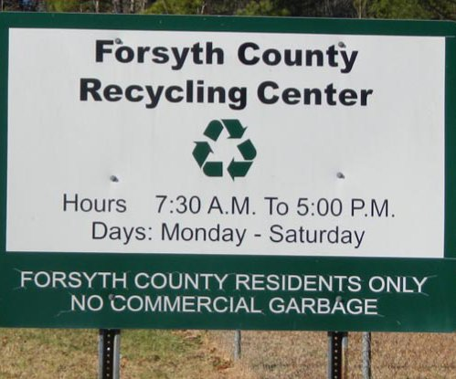 Centers offer recycling, waste disposal