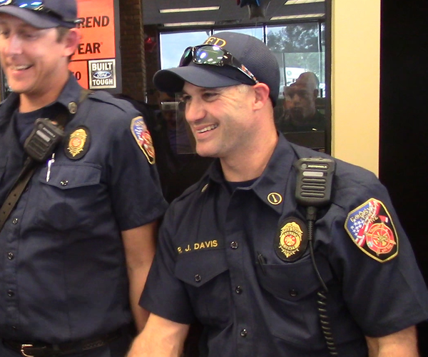 Studio Forsyth: Billy Howell Ford Lincoln honors first responders with lunch on 9/11