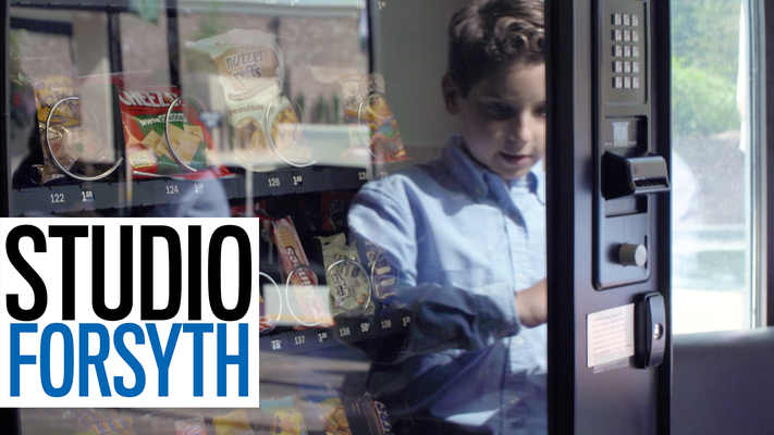 Studio Forsyth: 10 year old entrepreneur uses snack machine to support animal adoption