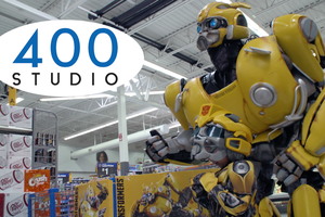 400 Studio: Transformers' Bumblebee causes a buzz among fans