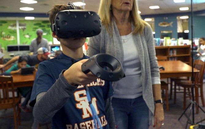 FCN Whitlow Elementary School Virtual Reality 2 122118