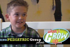 When I Grow Up: William Land, 3rd grade @ Chattahoochee Elementary