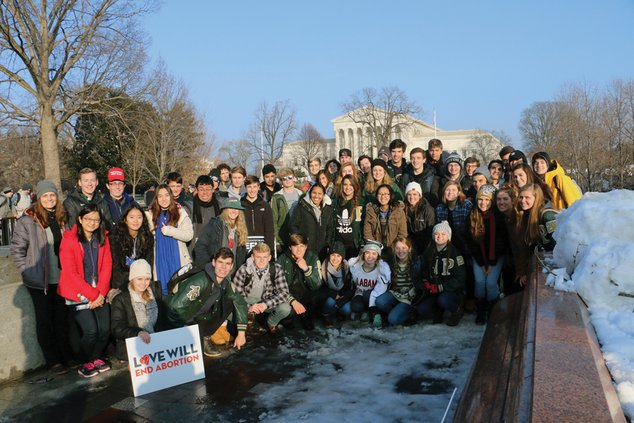 Pinecrest Academy March For Life 5 web