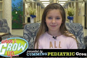 When I Grow Up: Harley Hayes, 4th grader @ Johns Creek Elementary