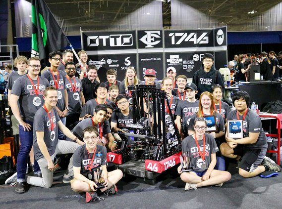 Central High School Robotics team