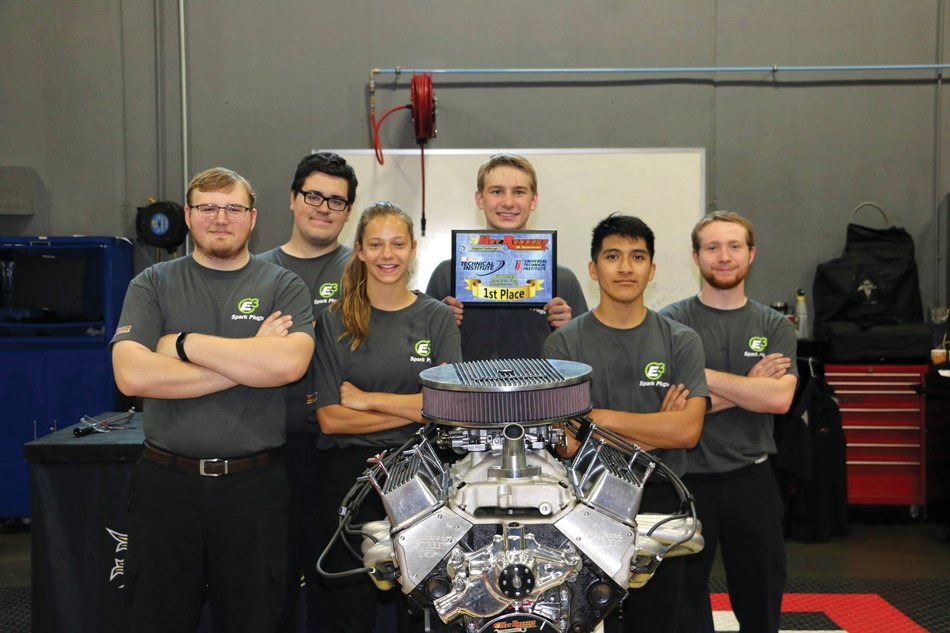 Hometown News: Forsyth Central High team wins NASCAR engine