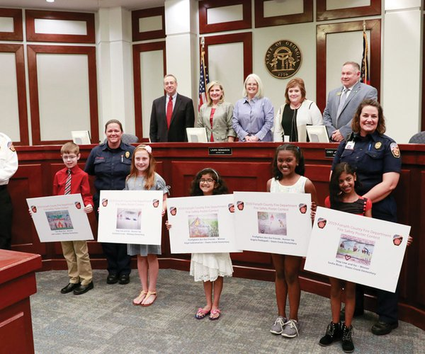 Fire safety poster contest